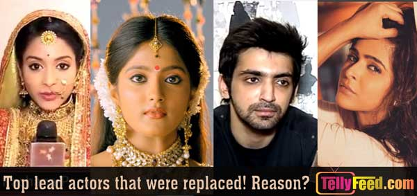 Actresses and Actors who were replaced in an ongoing zee world series