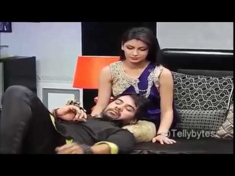 Abhi and Pragya chemistry behind the scenes  From the sets Twist of fate