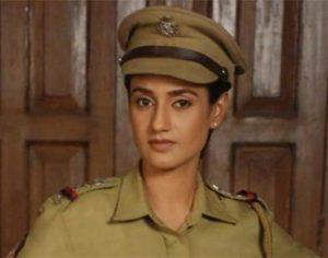 Zara look-alike of Indira on iron lady