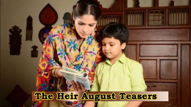 The Heir August Teasers 2019 Zee World - Tellyfeed