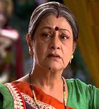 Vasundhara Real name Aruna Irani cast on lady luck Zee World