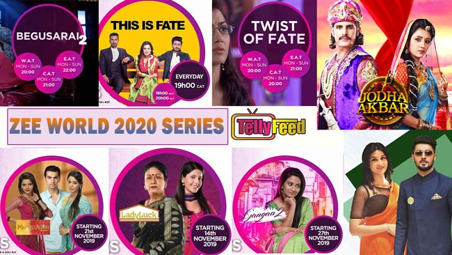 Zee World Upcoming Series List for 2020