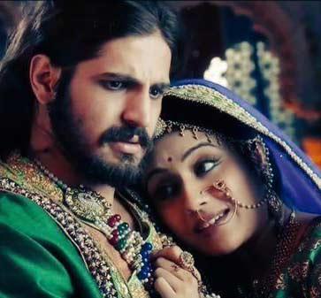 Zee World Jodha Akbar love, Romance