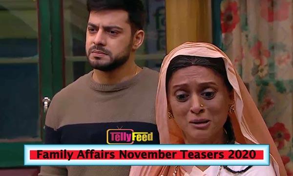 Family Affairs November Teasers 2020 Starlife